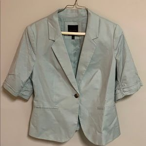The Limited Mint Green Suit Blazer Jacket